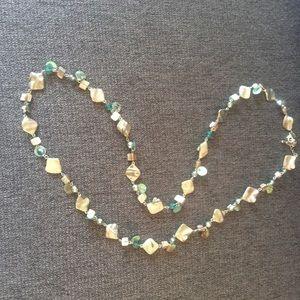 Lia Sophia Long Shell Necklace